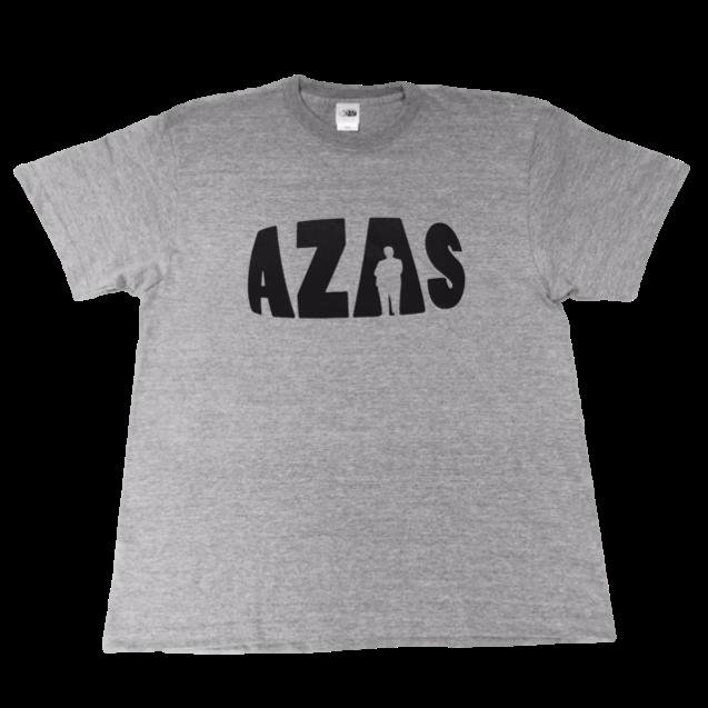 【トップス】AZASロゴT(ミックスグレー×ブラック)