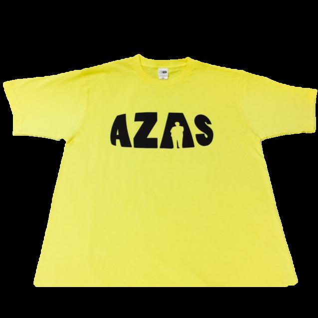 【トップス】AZASロゴT(イエロー×ブラック)
