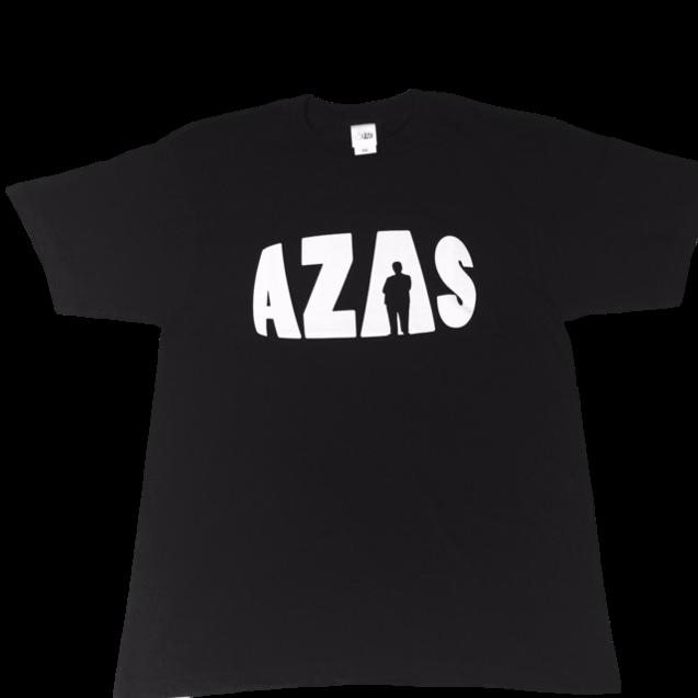 【トップス】AZASロゴT(ブラック×ホワイト)