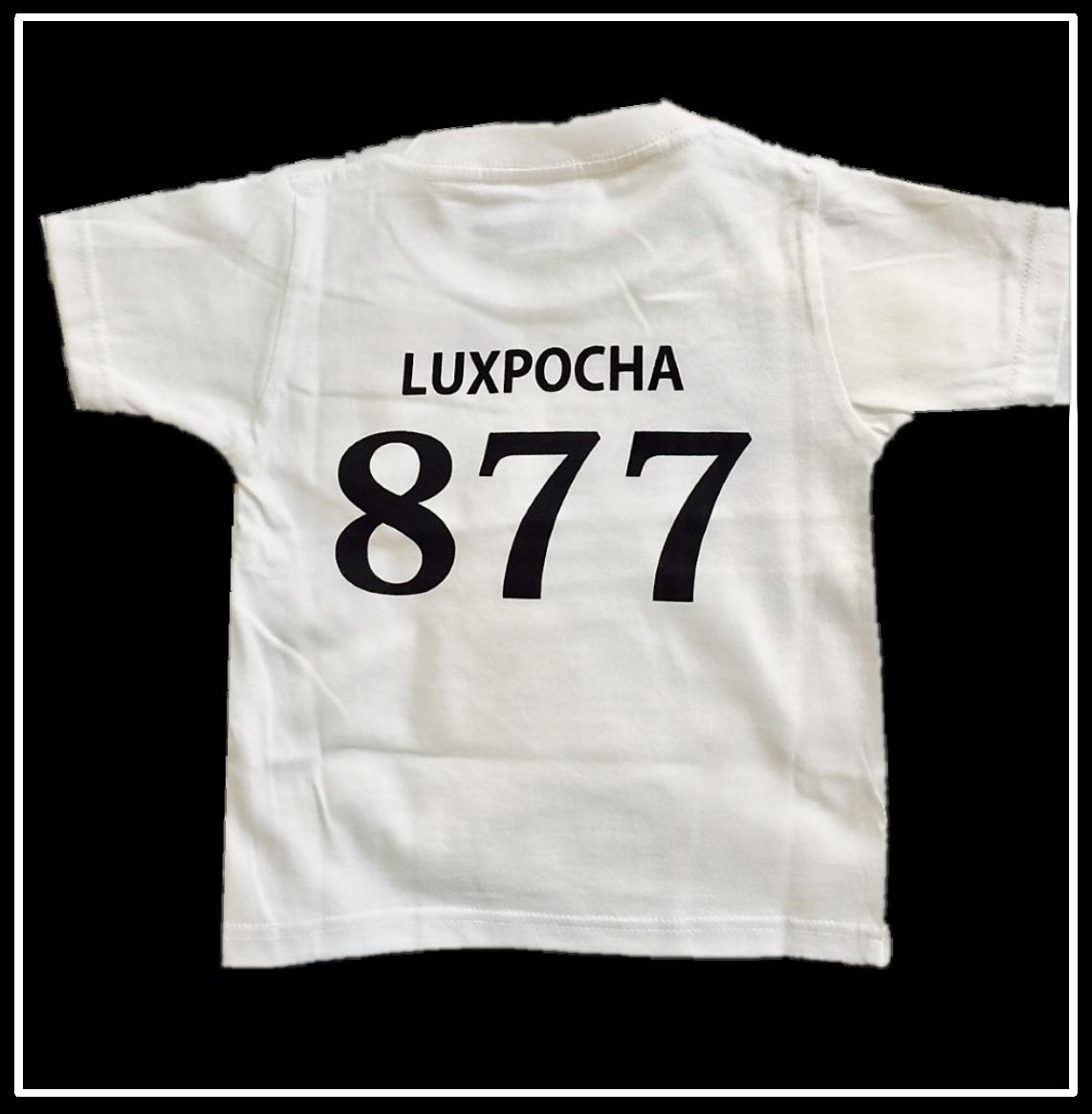 LUXPOCHA877 Kidsサイズ Tシャツ ホワイト130cm