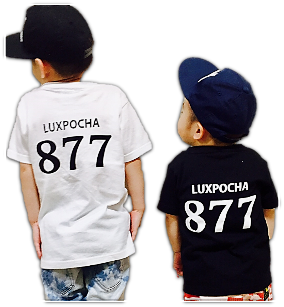 LUXPOCHA877 Kidsサイズ Tシャツブラック100cm