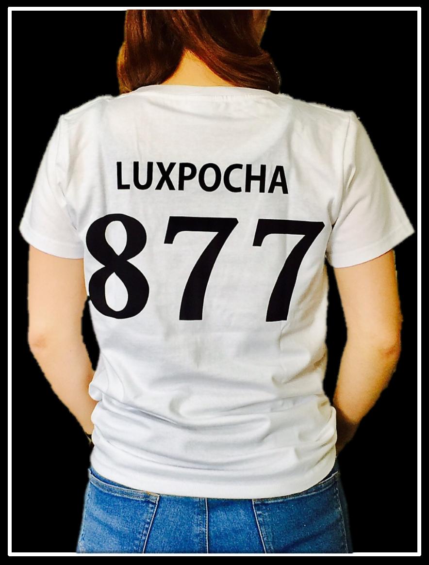 LUXPOCHA877 WomanLサイズ  Tシャツ ホワイト
